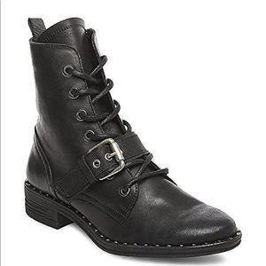 STEVE Madden Pilar leather combat boots NIB